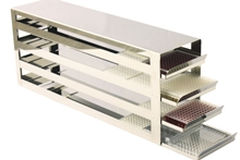Freezer rack with drawers